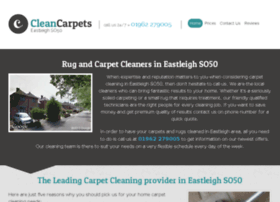 cleancarpetseastleigh.co.uk