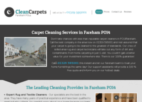 cleancarpetsfareham.co.uk
