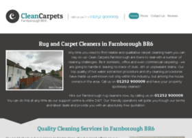 cleancarpetsfarnborough.co.uk
