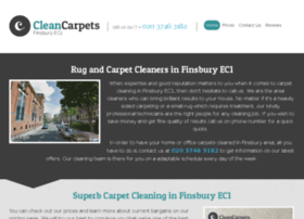 cleancarpetsfinsbury.co.uk