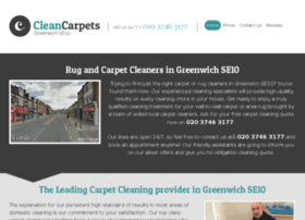 cleancarpetsgreenwich.co.uk
