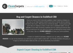 cleancarpetsguildford.co.uk