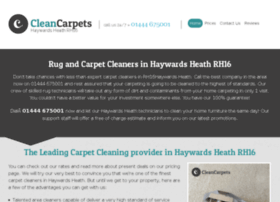 cleancarpetshaywardsheath.co.uk