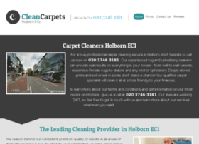 cleancarpetsholborn.co.uk