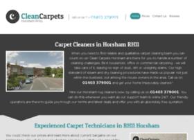 cleancarpetshorsham.co.uk