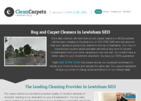 cleancarpetslewisham.co.uk