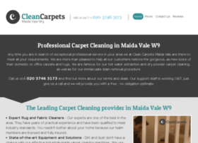 cleancarpetsmaidavale.co.uk
