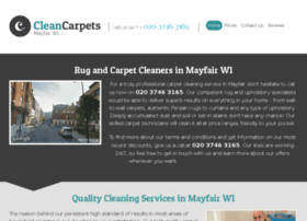 cleancarpetsmayfair.co.uk