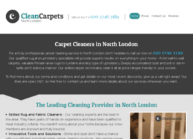 cleancarpetsnorthlondon.co.uk