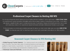 cleancarpetsnottinghill.co.uk