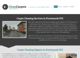 cleancarpetsportsmouth.co.uk
