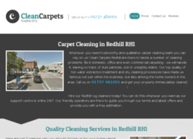 cleancarpetsredhill.co.uk