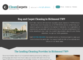 cleancarpetsrichmond.co.uk