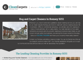 cleancarpetsromsey.co.uk