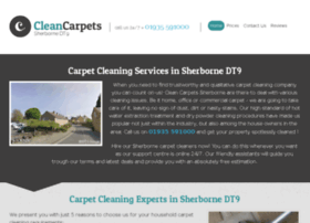 cleancarpetssherborne.co.uk