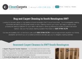 cleancarpetssouthkensington.co.uk