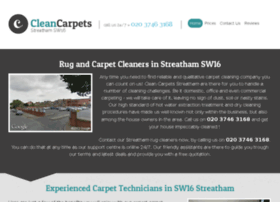 cleancarpetsstreatham.co.uk