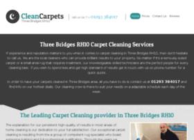 cleancarpetsthreebridges.co.uk
