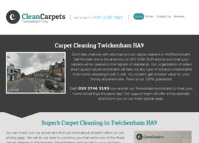 cleancarpetstwickenham.co.uk