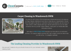 cleancarpetswandsworth.co.uk