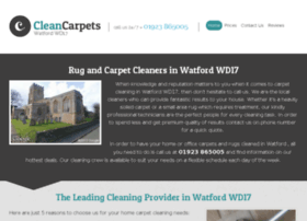 cleancarpetswatford.co.uk
