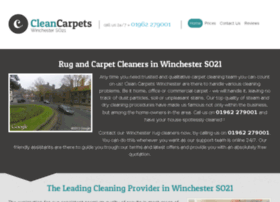 cleancarpetswinchester.co.uk
