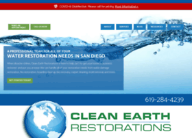 cleanearthrestorations.com