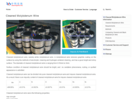 cleaned-molybdenum-wire.com