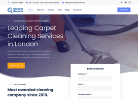 cleanercarpetslondon.com
