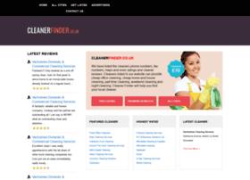 cleanerfinder.co.uk