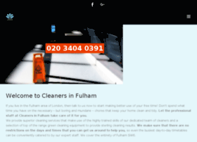 cleanersinfulham.co.uk