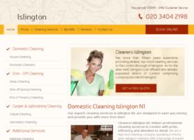 cleanersislington.co.uk