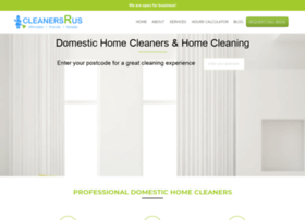 cleanersrus.co.uk