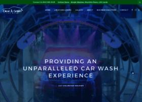 cleangreencarwash.com