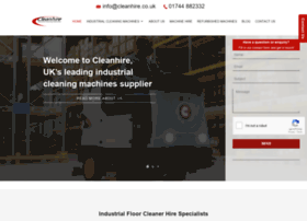 cleanhire.co.uk