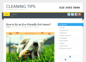 cleaning-tips.housecleaning-london.co.uk