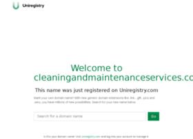 cleaningandmaintenanceservices.com.au