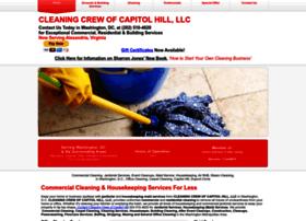 cleaningcrewofcapitolhill.com