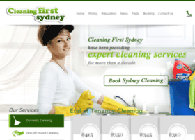cleaningfirstsydney.com