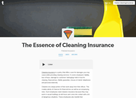 cleaninginsurance.tumblr.com