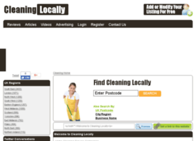 cleaninglocally.co.uk