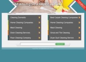 cleaningseasons.co.uk