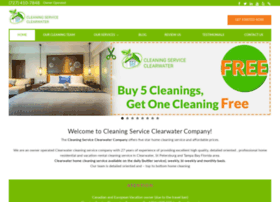cleaningserviceclearwaterfl.com