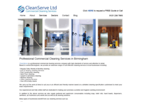 cleanserve.co.uk