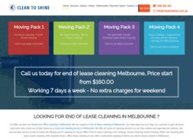 cleantoshine.com.au
