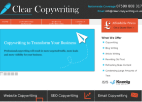 clear-copywriting.co.uk
