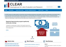 clear.dol.gov