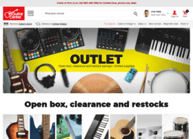 clearance.guitarcenter.com