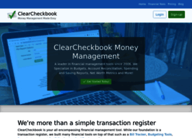 Clearcheckbook.com