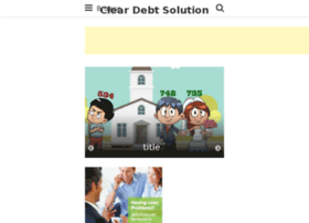 cleardebtsolution.com